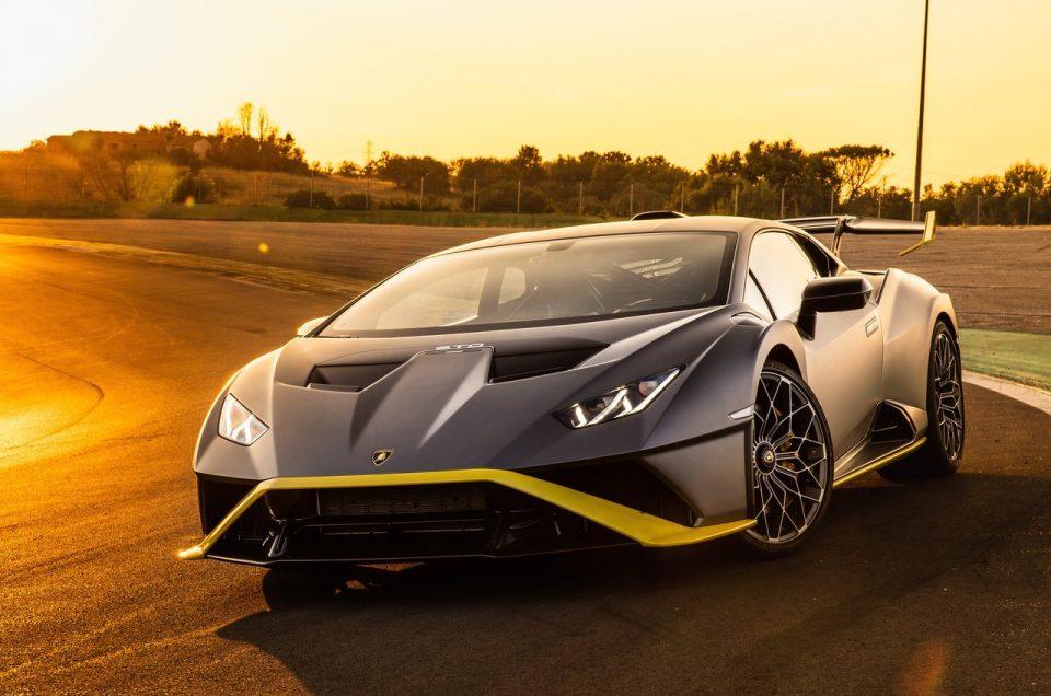 Someone Rented Lamborghini Huracan STO – Already Crashed it